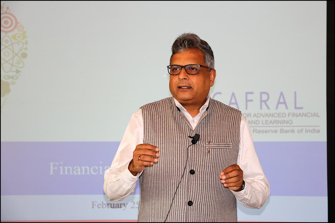 P Vasudevan, Chief General Manager Department of Payment and Settlement System, RBI