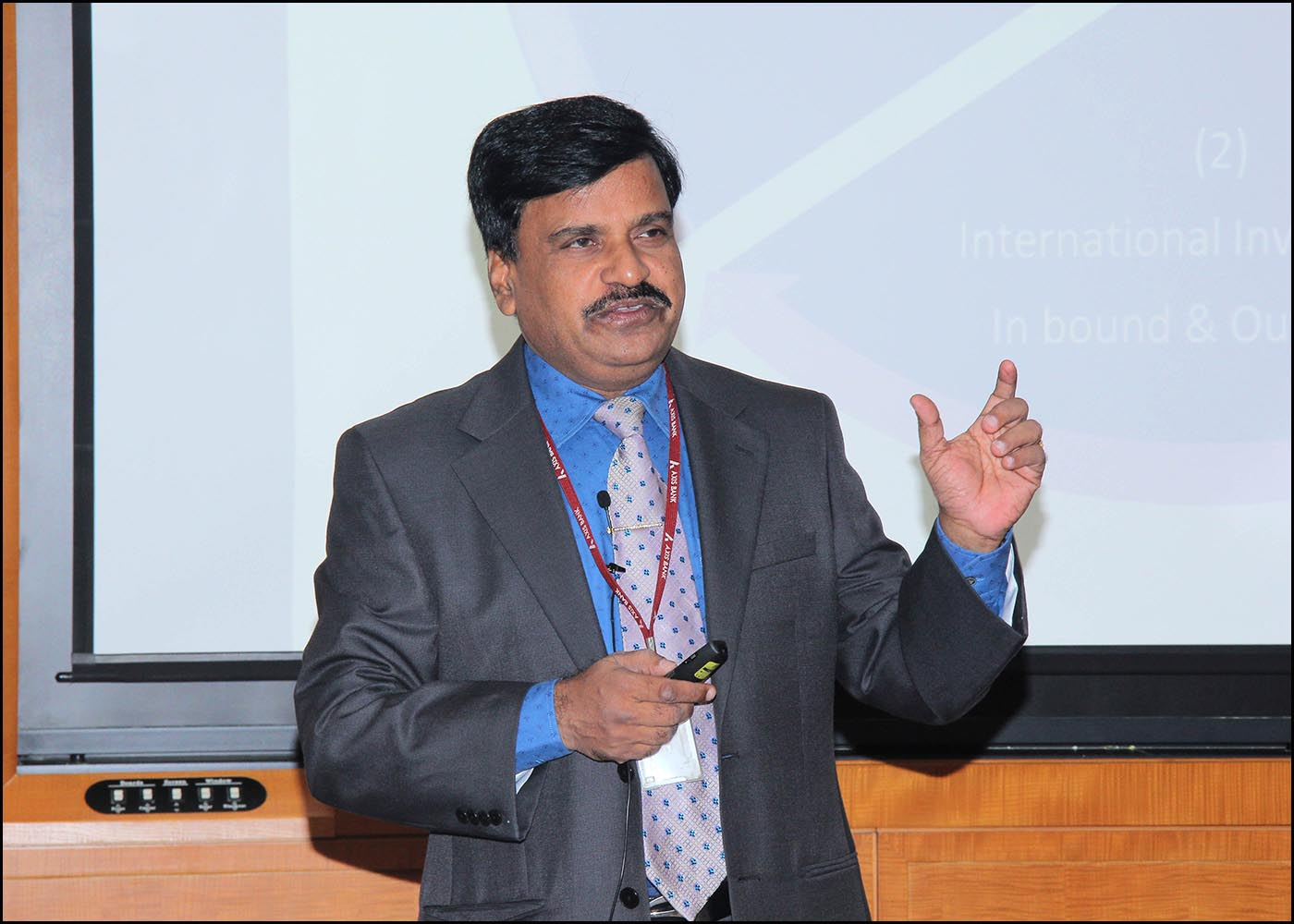 Shri. V Somasekhar, Head-Trade & Products, Business Compl.&Capability Development, Transaction Banking, Axis Bank