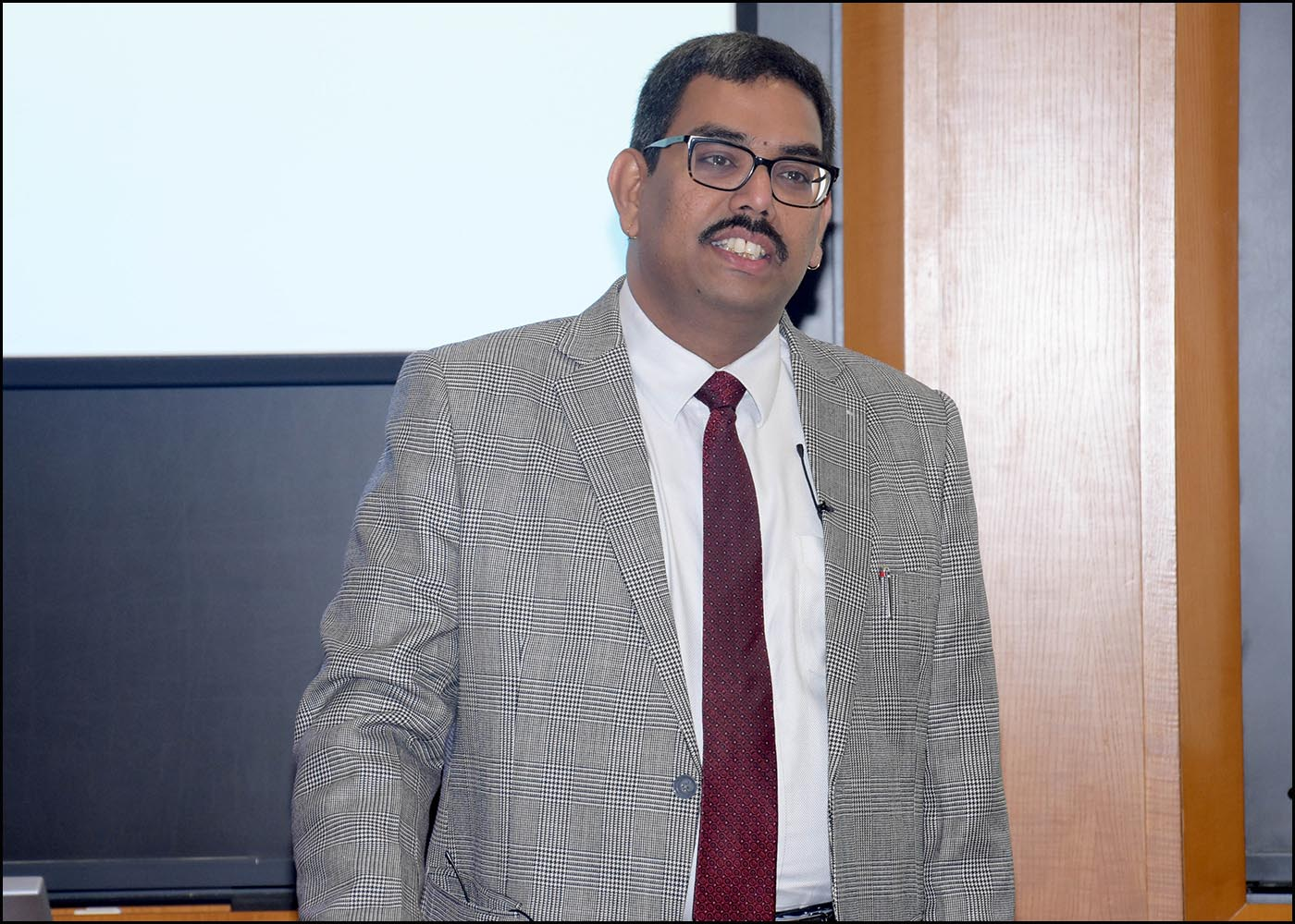 Dr Srinivas Yanamandra, Chief, Compliance, New Development Bank, Shanghai (BRICS)