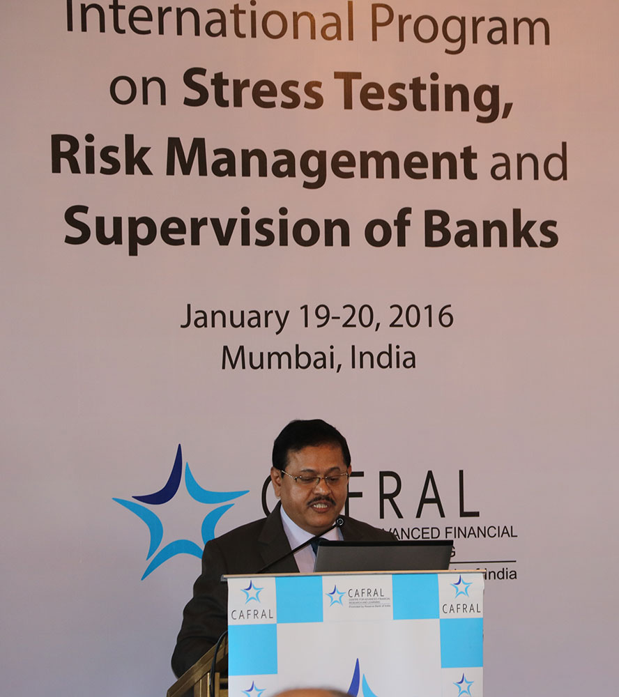 Stress Test Dangers: CAFRAL International Program On Stress Testing, Risk
